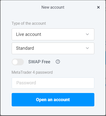 Open an account Olymp Trade Forex
